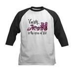 Variety Is The Spice of Life Kids Baseball Jersey