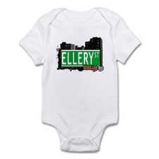 ELLERY ST, BROOKLYN, NYC Infant Bodysuit