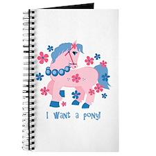 I Want A Pony Journal