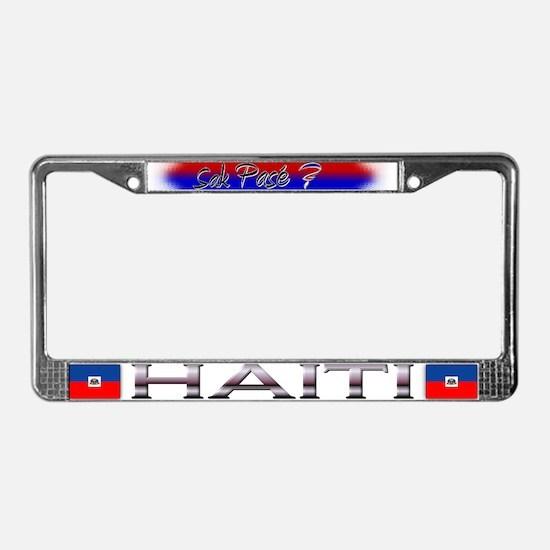 Sak Pase? - License Plate Frame