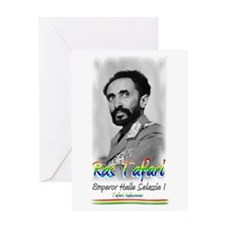 Ras Tafari - Greeting Card
