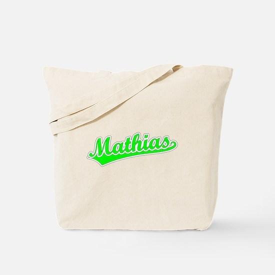 Retro Mathias (Green) Tote Bag