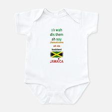 Jamaicans ah de baddest - Infant Bodysuit
