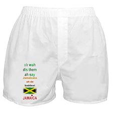 Jamaicans ah de baddest - Boxer Shorts