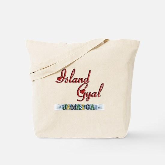 Island Gyal - Jamaica - Tote Bag