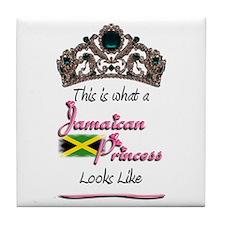 Jamaican Princess - Tile Coaster