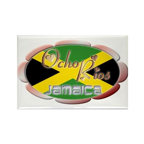 Ocho Rios - Rectangle Magnet (10 pack)