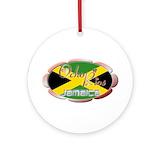Ocho rios jamaica Round Ornaments