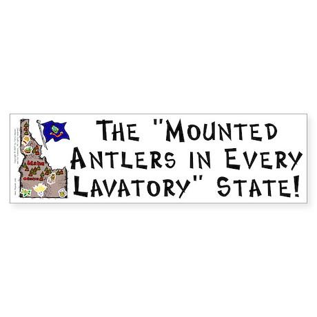 ID-Antlers! Bumper Sticker