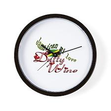 Dutty Wine - Wall Clock