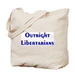 Outright Libertarians Tote Bag