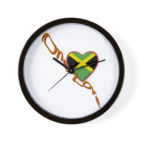 One Love - Wall Clock