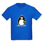 Fortune Cookie Penguin Kids Dark T-Shirt