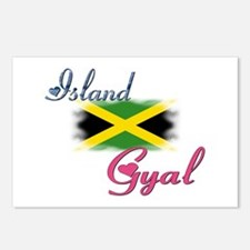 Island Gyal - Jamaica Postcards (Package of 8)