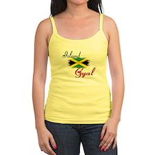 Island Gyal - Jamaica Jr.Spaghetti Strap