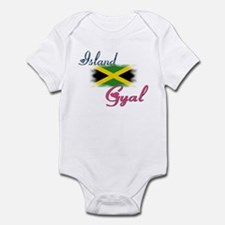 Island Gyal - Jamaica Infant Bodysuit