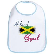 Island Gyal - Jamaica Bib