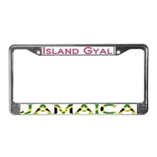 Cute Trinidad License Plate Frame