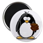 Chocolate Brownie Penguin Magnet