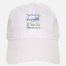 Incredible 80th Baseball Baseball Cap
