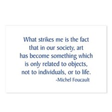 Foucault 1 Postcards (Package of 8)