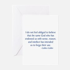 Galileo 1 Greeting Cards (Pk of 10)