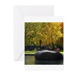 Reflecting pool Greeting Cards (Pk of 20)