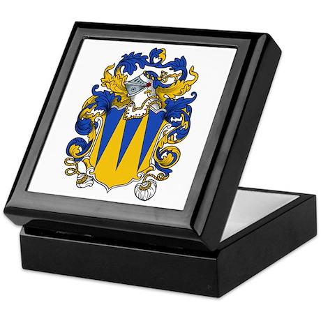 Bryan Family Crest Keepsake Box