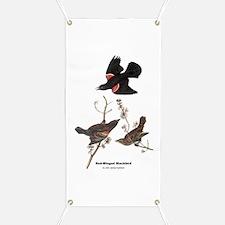 Audubon Red-Winged Blackbird Banner