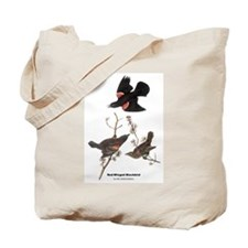 Audubon Red-Winged Blackbird Tote Bag