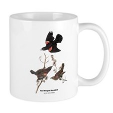 Audubon Red-Winged Blackbird Mug