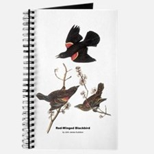 Audubon Red-Winged Blackbird Journal