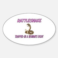 Rattlesnake Trapped In A Woman's Body Decal