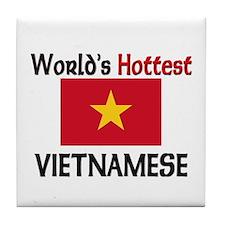 World's Hottest Vietnamese Tile Coaster
