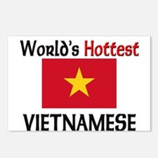 World's Hottest Vietnamese Postcards (Package of 8