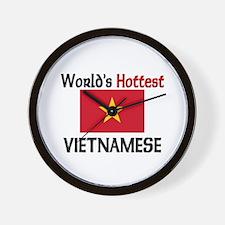 World's Hottest Vietnamese Wall Clock