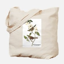 Audubon White-Throated Sparrow Tote Bag