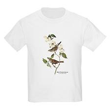 Audubon White-Throated Sparrow (Front) T-Shirt