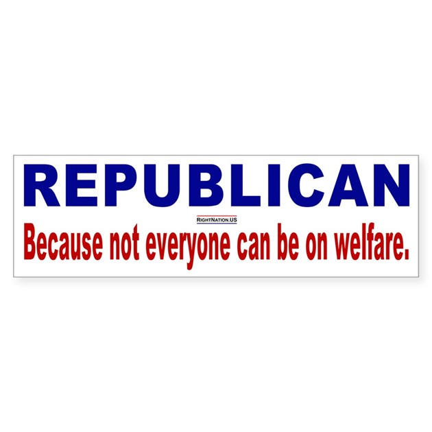 Republican Bumper Stickers Republican Bumper Bump...