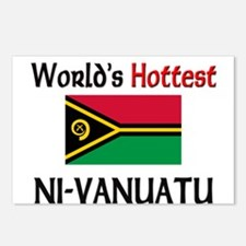 World's Hottest Ni-Vanuatu Postcards (Package of 8