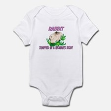 Rabbit Trapped In A Woman's Body Infant Bodysuit