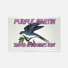 Purple Martin Trapped In A Woman's Body Rectangle