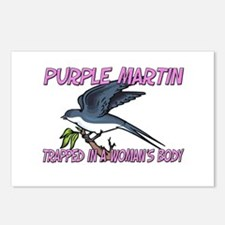 Purple Martin Trapped In A Woman's Body Postcards