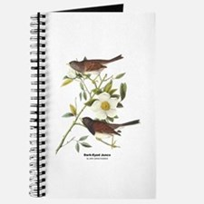 Audubon Dark-Eyed Junco Bird Journal