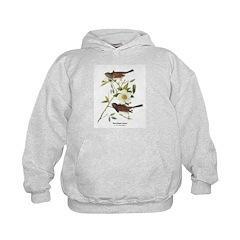 Audubon Dark-Eyed Junco Bird Hoodie