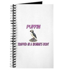 Puffin Trapped In A Woman's Body Journal