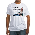 Garden Gnome Fitted T-Shirt