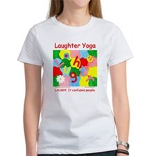 Laughter Yoga LAUGH Tee