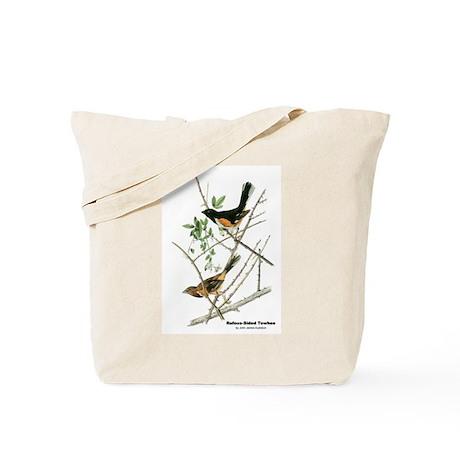 Audubon Towhee Bird Tote Bag