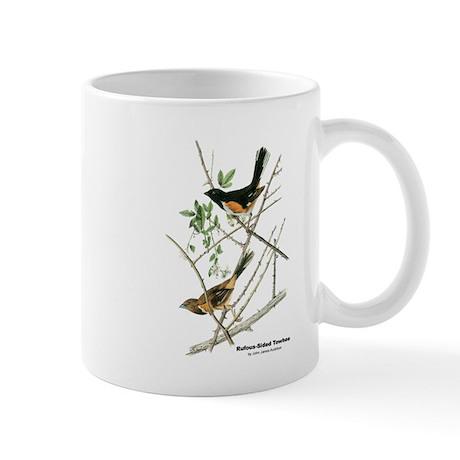 Audubon Towhee Bird Mug